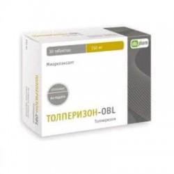 Толперизон-OBL, табл. п/о пленочной 150 мг №30